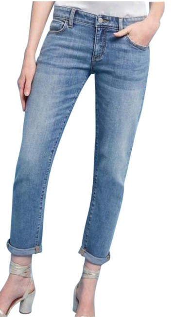 Item - Pilcro and The Letterpress Blue Medium Wash Anthropologie Hyphen Boyfriend Cut Jeans Size 27 (4, S)