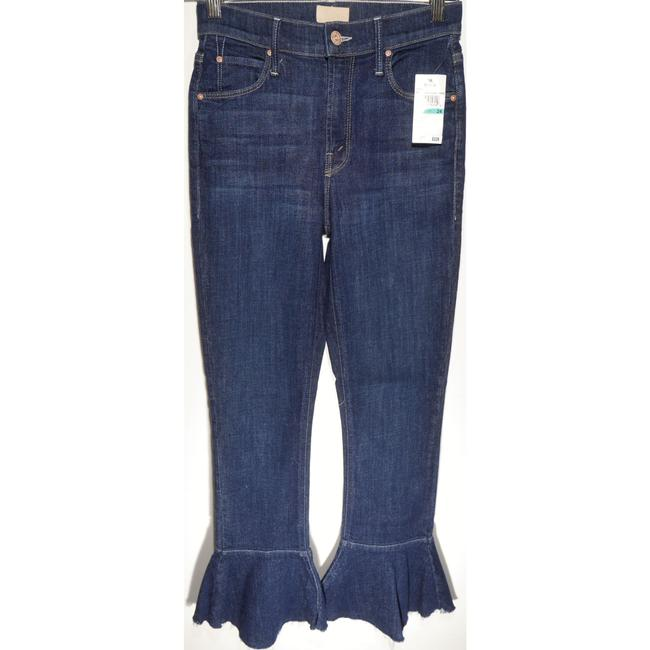 Item - Clean Sweep The Cha Cha Fray - Skinny Crop Flare Capri/Cropped Jeans Size 24 (0, XS)