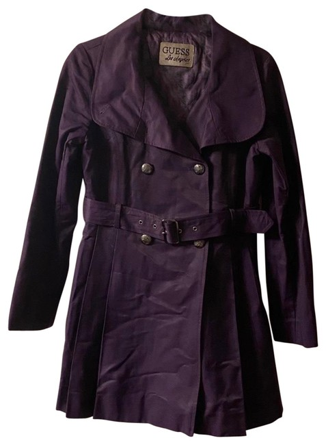 Item - Purple Los Angeles Double Breasted Coat Size 4 (S)