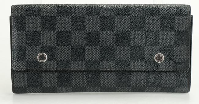 Item - Gray Damier Graphite Portefeuille Long Modulable Wallet Men's Jewelry/Accessory