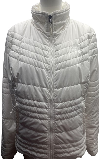 The North Face White Jacket Size OS (one size) The North Face White Jacket Size OS (one size) Image 1
