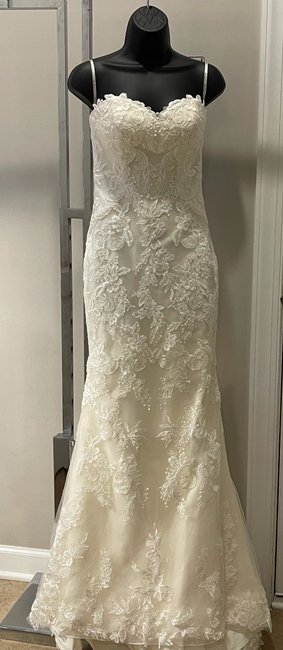 Item - Ivory Sandra By Feminine Wedding Dress Size 4 (S)