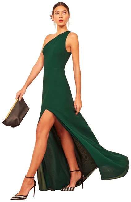 Item - Green Evelyn In Emerald Long Formal Dress Size 4 (S)