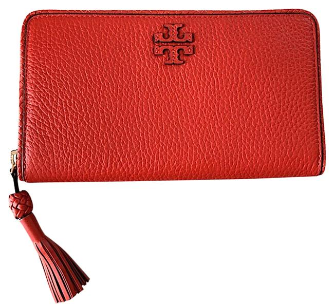 Item - Red Taylor Zip Continental Wallet