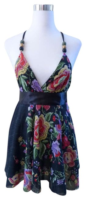 Preload https://img-static.tradesy.com/item/285037/tricia-fix-black-floral-new-with-tags-tank-topcami-size-0-xs-0-0-650-650.jpg