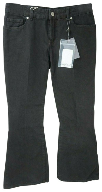 Item - Black Medium Wash Denim Women's Flare Leg Jeans Size 26 (2, XS)