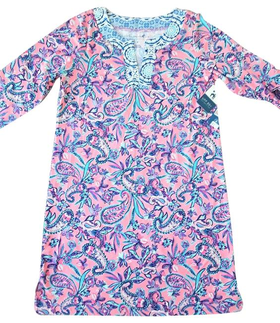 Item - New Sun Protection Cover Upf 50+ Mid-length Short Casual Dress Size 8 (M)