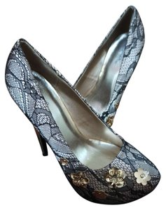 Other Black Lace Pumps