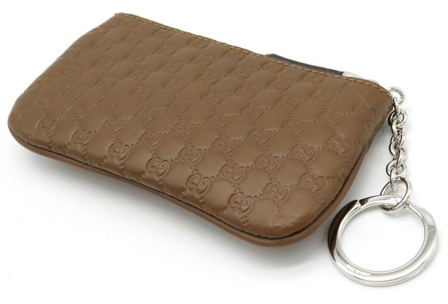 Gucci Brown Micro Shima Coin Purse Leather Outlet 544476 Wallet Gucci Brown Micro Shima Coin Purse Leather Outlet 544476 Wallet Image 2
