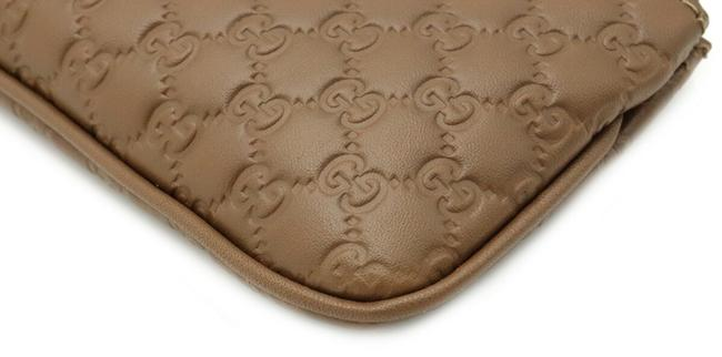 Gucci Brown Micro Shima Coin Purse Leather Outlet 544476 Wallet Gucci Brown Micro Shima Coin Purse Leather Outlet 544476 Wallet Image 3