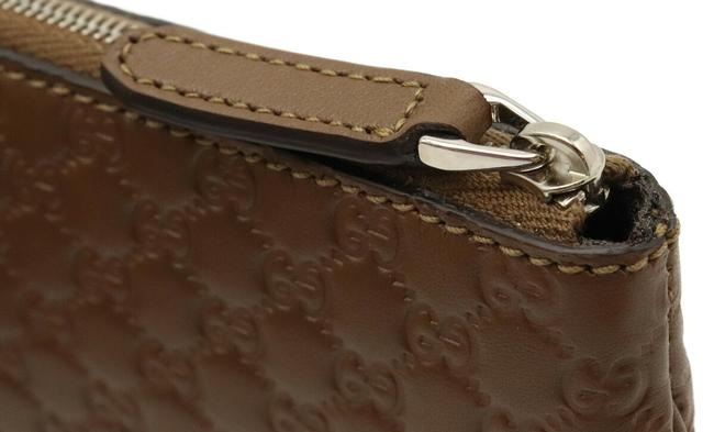 Gucci Brown Micro Shima Coin Purse Leather Outlet 544476 Wallet Gucci Brown Micro Shima Coin Purse Leather Outlet 544476 Wallet Image 4