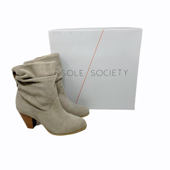 Item - Beige Taupe Tularosa Calf Suede Boots/Booties Size US 8.5 Regular (M, B)