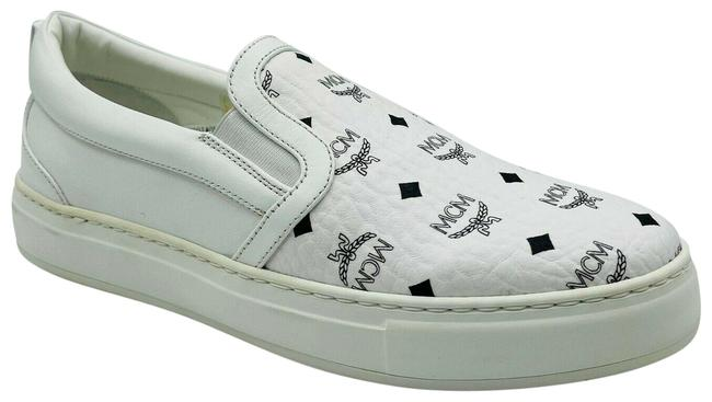 Item - White Black Logo Visetos Slip-on Eu 36/Us Mes9smm40wt Sneakers Size US 6 Regular (M, B)