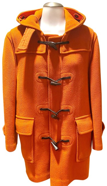 Item - Burnt Orange Duffel Coat Size 6 (S)
