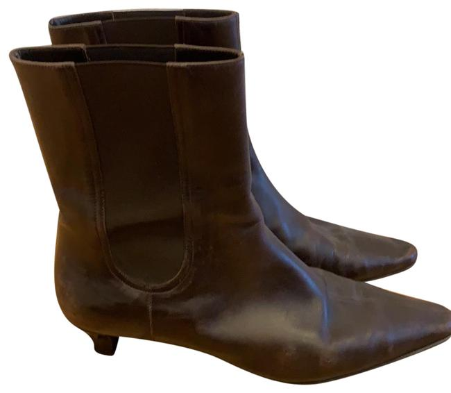 Item - Brown Leather Boots/Booties Size US 9 Regular (M, B)