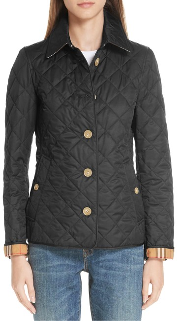 Item - Black Frankby 18 Quilted Jacket Size 2 (XS)