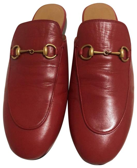 Item - Red Loafers Mules/Slides Size EU 40 (Approx. US 10) Regular (M, B)