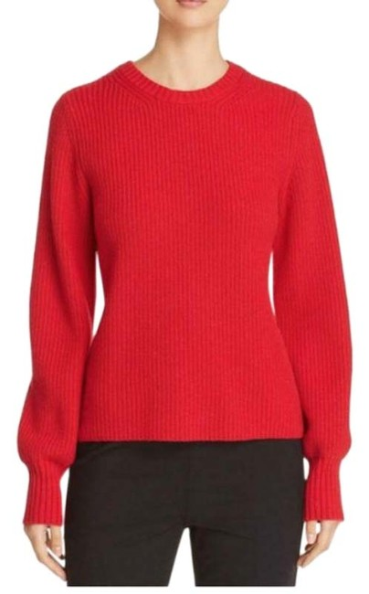Item - Kennedy Shaker Stitch Red Sweater