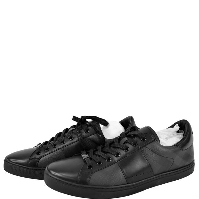 Item - Black Ritson London Check Low Top Sneakers Size US 12 Regular (M, B)