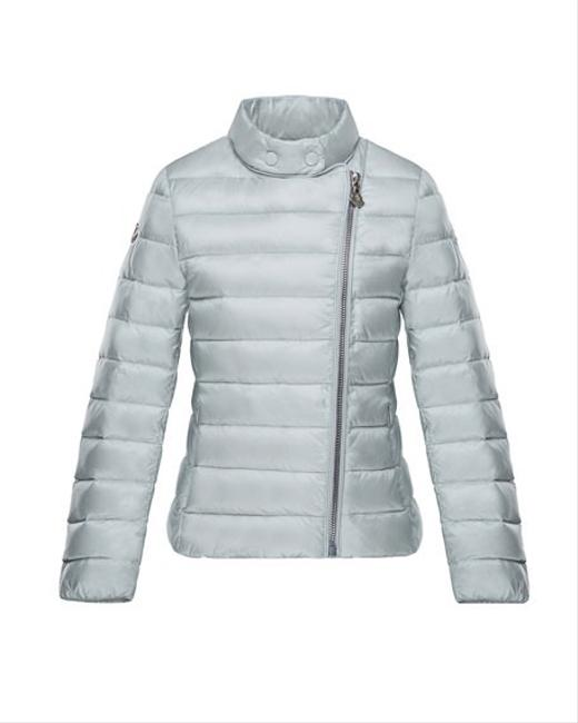 Item - Silver Kids' Amy Gray Asymmetric Zip Down-quilted Jacket Years Coat Size OS (one size)