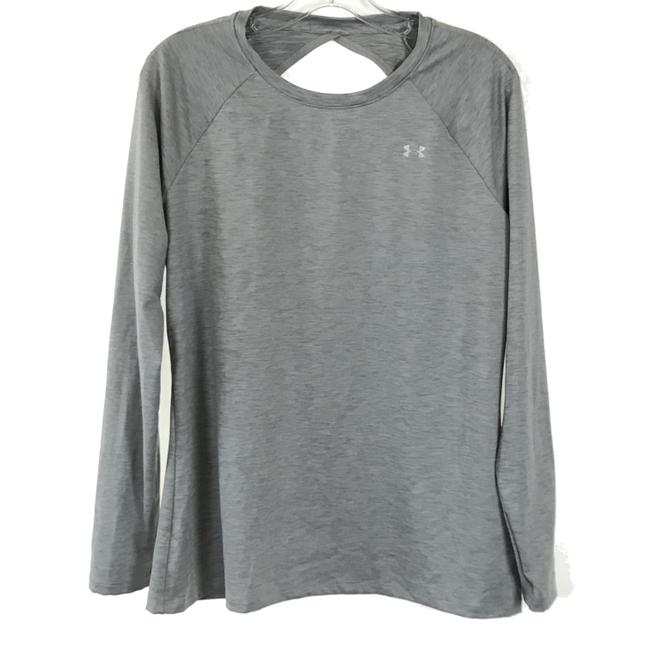 Item - Gray Open Back Activewear Top Size 12 (L)
