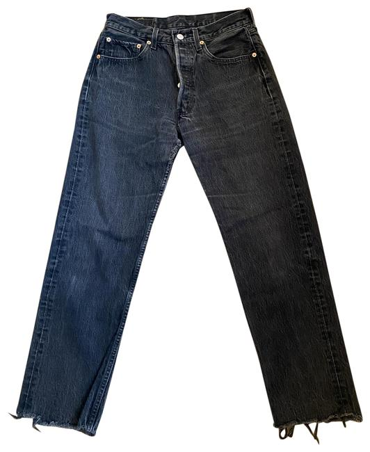 Item - Black Dark Rinse Vintage Relaxed Fit Jeans Size 26 (2, XS)