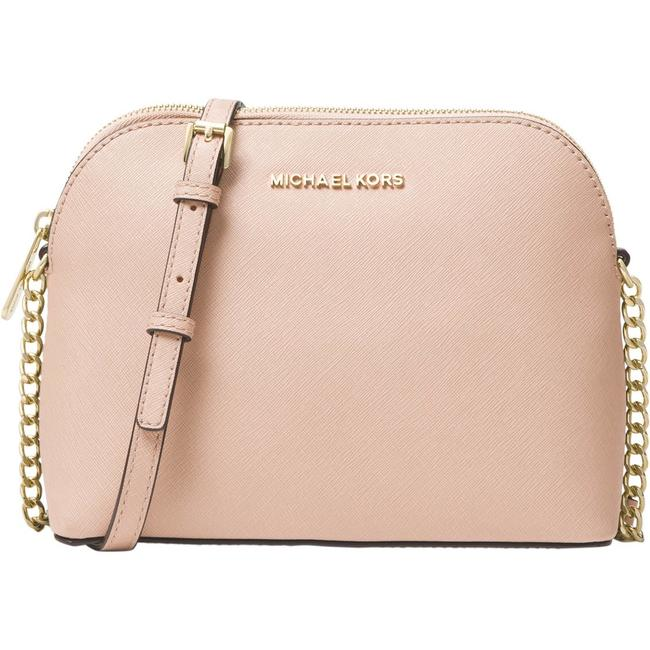 Item - Dome Crossbodybag Light Pink Leather Satchel
