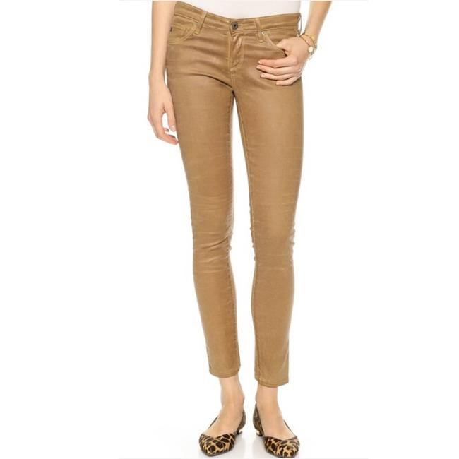Item - Brown The Legging Ankle Leatherette Pants Size 2 (XS, 26)