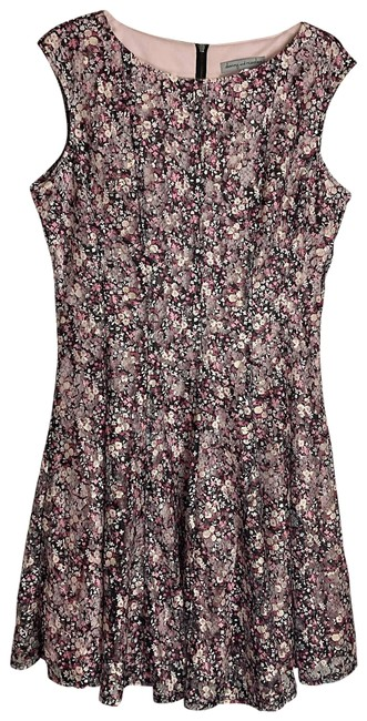 Item - Black Sleeveless Fit And Short Casual Dress Size 14 (L)