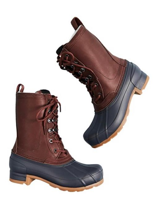 Item - Burnt Sienna / Navy Boots/Booties Size US 6 Regular (M, B)