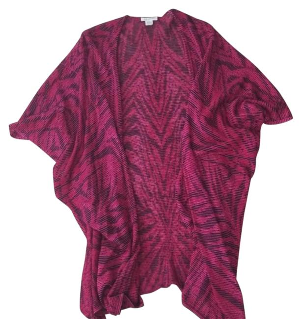 Item - Pink and Black Wrap/Cape Poncho/Cape Size OS (one size)