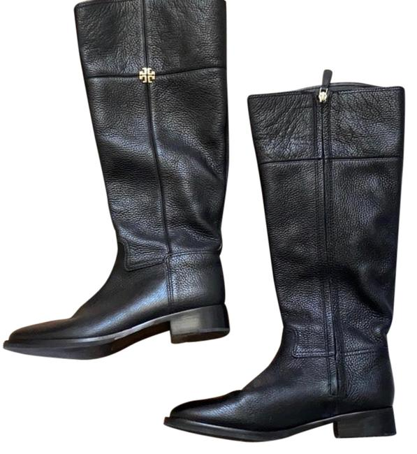 Item - Blqck Calf Riding Boots/Booties Size US 8 Wide (C, D)