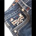 Rock Revival Blue Distressed Revival*betty*boot Jeans.25 Boot Cut Jeans Size 25 (2, XS) Rock Revival Blue Distressed Revival*betty*boot Jeans.25 Boot Cut Jeans Size 25 (2, XS) Image 8