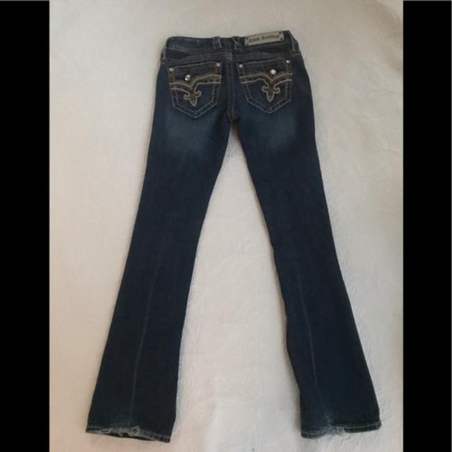 Rock Revival Blue Distressed Revival*betty*boot Jeans.25 Boot Cut Jeans Size 25 (2, XS) Rock Revival Blue Distressed Revival*betty*boot Jeans.25 Boot Cut Jeans Size 25 (2, XS) Image 9