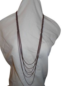 Coldwater Creek Coldwater Creek multi-chain braided necklace