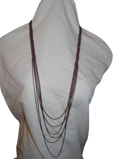 Preload https://img-static.tradesy.com/item/285131/coldwater-creek-copper-multi-chain-braided-necklace-0-0-540-540.jpg