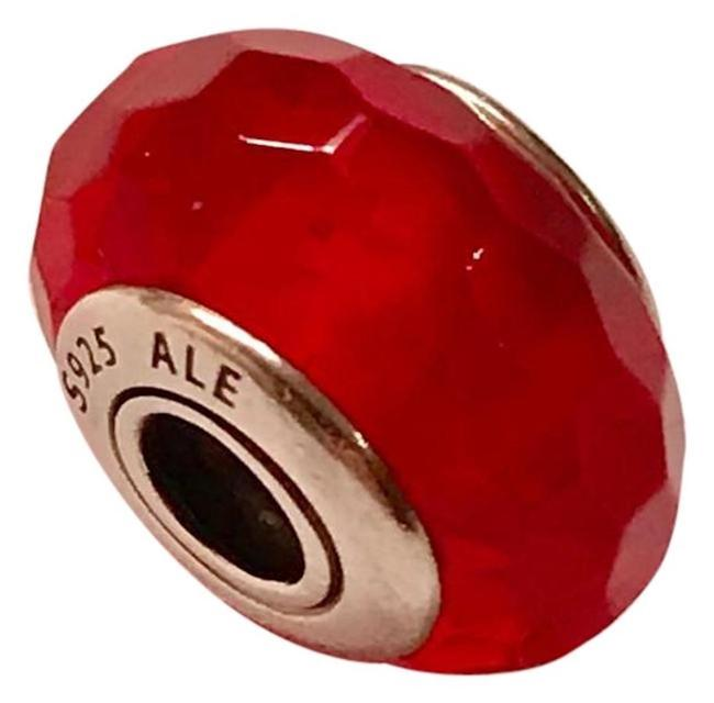 Item - Red Murano Glass Charm