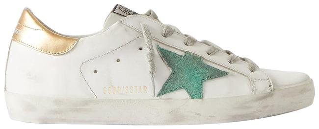 Item - Superstar Distressed Leather and Suede Sneakers Size EU 40 (Approx. US 10) Regular (M, B)