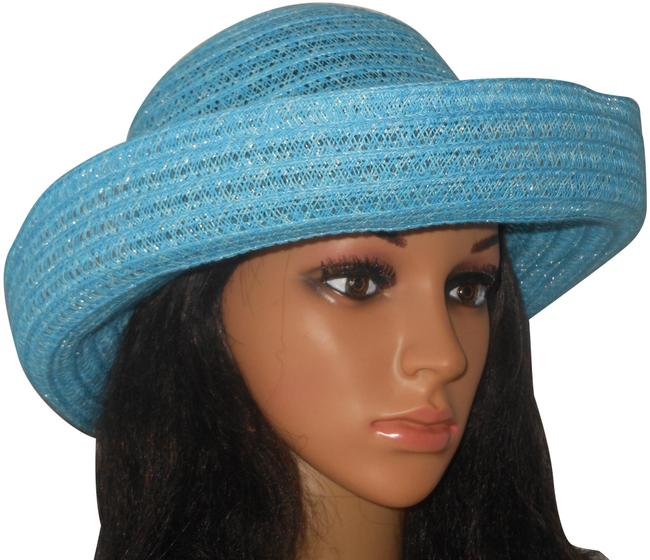 Item - Blue Flip Brim Fashion Hat