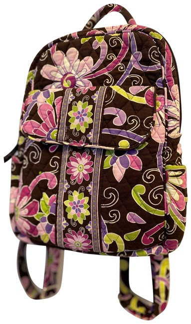 Item - Plum Crazy Mini Brown and Purple Backpack