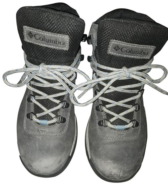 Item - Gray And Black Boots/Booties Size US 8 Regular (M, B)