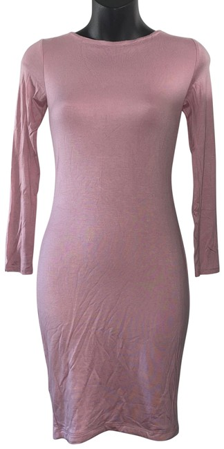 Item - Rose Pink Lace Up Back Short Casual Dress Size 4 (S)