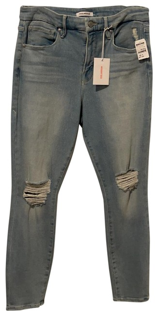 Item - Distressed Glc941t Skinny Jeans Size 12 (L, 32, 33)