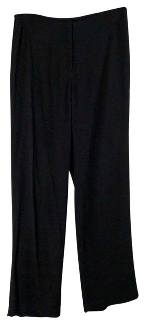 Item - Black Small Silk 497 Pants Size Petite 4 (S)