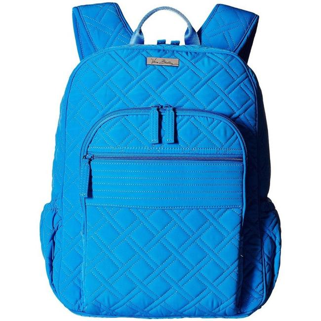 Item - Campus Quilted Blue Backpack