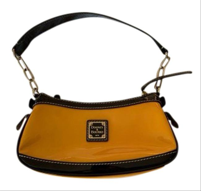 Item - Yellow Patent Leather Shoulder Bag