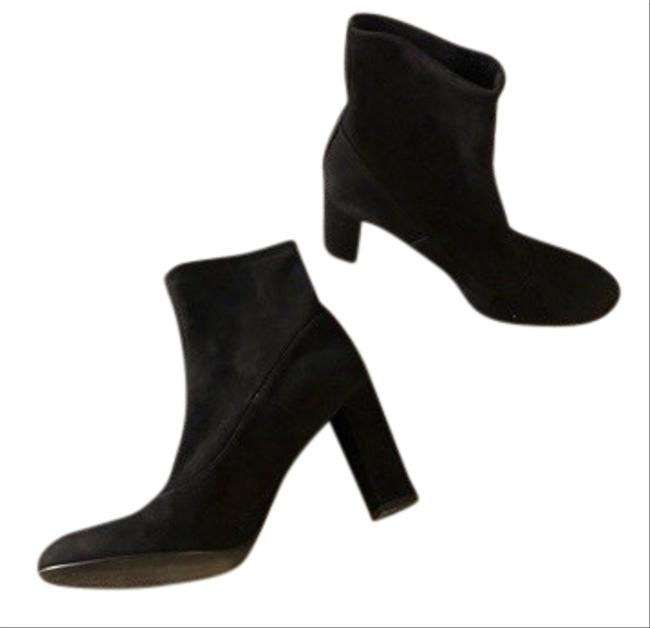 Item - Black Suede Stretch Sock Boots/Booties Size EU 40 (Approx. US 10) Regular (M, B)