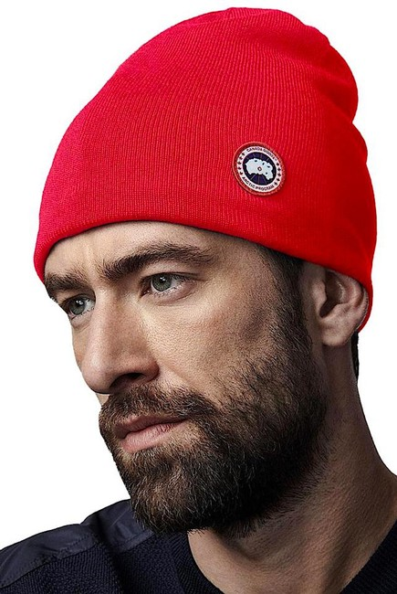 Item - Red with Tag Standard Wool Blend Beanie Hat
