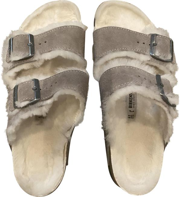 Item - Stone Arizona Shearling Sandals Size US 9.5 Regular (M, B)