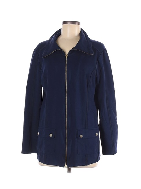 Item - Navy W Sporty Gold Accents Jacket Size 6 (S)